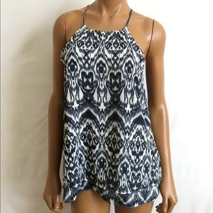 Anthropologie Paper Crane strappy tank top Small S